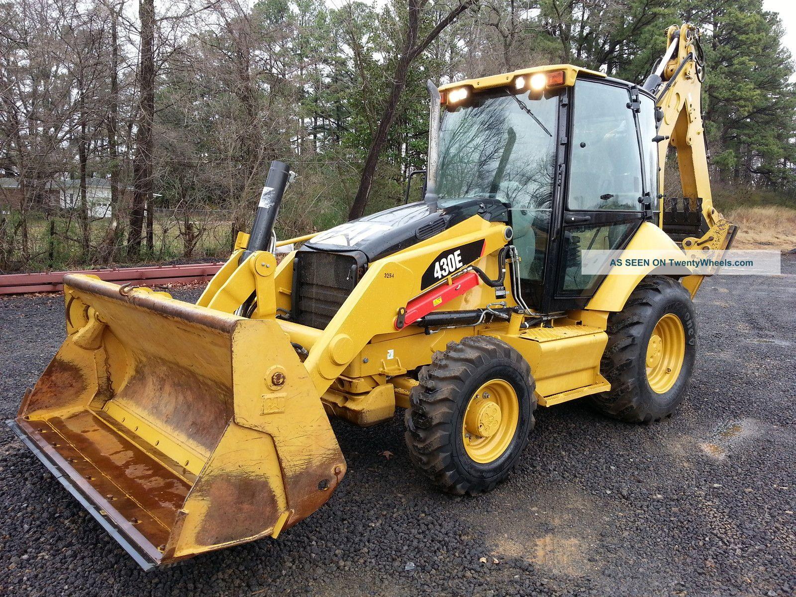 2010 Cat Caterpillar 430e Loader Backhoe; 4 - 1,  Extenda - Hoe,  A/c Cab,  2050 Hrs Backhoe Loaders photo