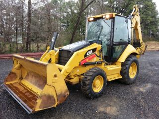 2010 Cat Caterpillar 430e Loader Backhoe; 4 - 1,  Extenda - Hoe,  A/c Cab,  2050 Hrs photo