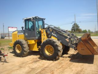 2004 John Deere 544j Wheel Loader photo