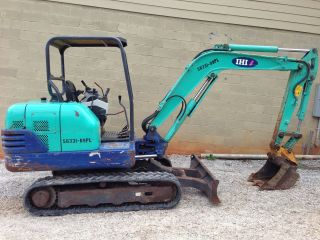 2007 Ihi 35n2 35n 2 Mini Excavator Digger Yanmar Diesel Engine 1751 Hours photo