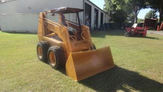 Case 1845 Skid Steer,  Cummins Engine photo