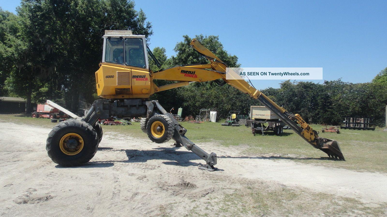 Menzi Muck 6000 Walking Excavator Excavators photo