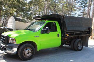 2006 Ford F350 Dump Truck,  28k Miles photo