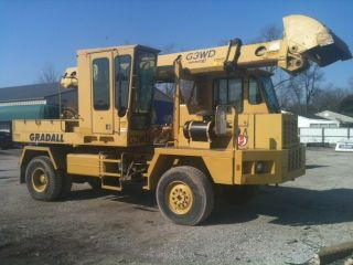 1995 Gradall G3wd Excavator photo