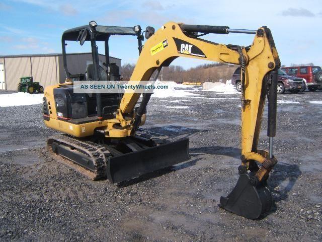 Cat 302.  5 Excavator Excavators photo