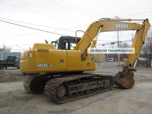 John Deere 160c Lc Excavator Excavators photo