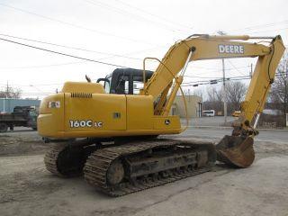 John Deere 160c Lc Excavator photo