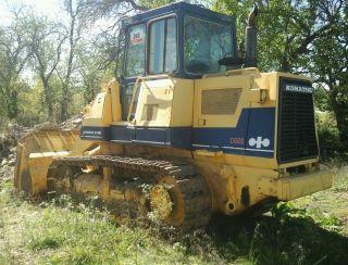 Komatsu D66 Crawler Track Loader Bucket Tracks Excavator Dozer Diesel photo