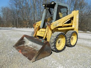 1997 Gehl Sl 4625sx 4625 Sx Skid Steer Loader Skidloader photo