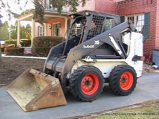 Bobcat 7753 Skid Steer Loader 1700lb Lift 49hp Diesel photo