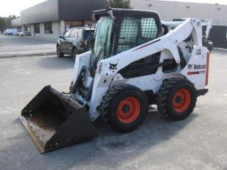 Bobcat S650 Skid Loader Heated Cab Kubota Diesel Engine Heat Glass photo