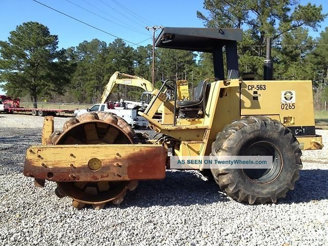 1994 Caterpillar Cp - 563 Padfoot Vibratory Roller Compactors & Rollers - Riding photo