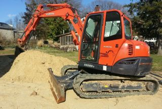 2008 Kubota Kx080 - 3 Excavator,  A/c,  Knuckle,  And Thumb. photo