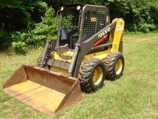 2003 Volvo Mc90 86 Hp Skid Steer,  1150 Hrs,  Tires,  Serviced,  Job Ready photo