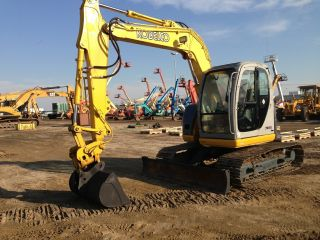 Kobelco Sk70sr Hydraulic Track Excavator Dozer Loader Diesel Cat Power Tilt photo