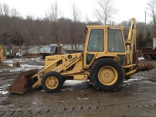 Ford 655a 4x4 Backhoe Excavator Loader Dozer Trackhoe Mechanic Special photo