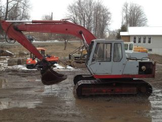 Link Belt Backhoe Excavator Loader Dozer Trackhoe photo