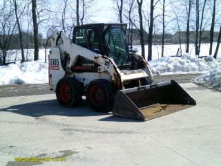 Bobcat S185 Cab/heat Kabuta Turbo - 1240 Hours - Love It Or Leave It Gaurantee photo