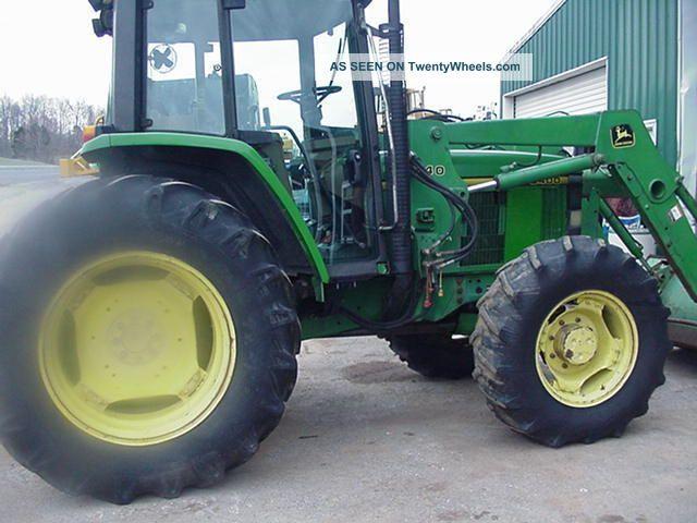 John Deere 6400 Tractors photo