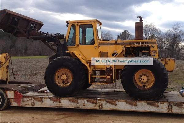 1990 Brown Bear 300 Tractor 609 Hrs With Compost/windrow Turner + Loader Bucket Tractors photo
