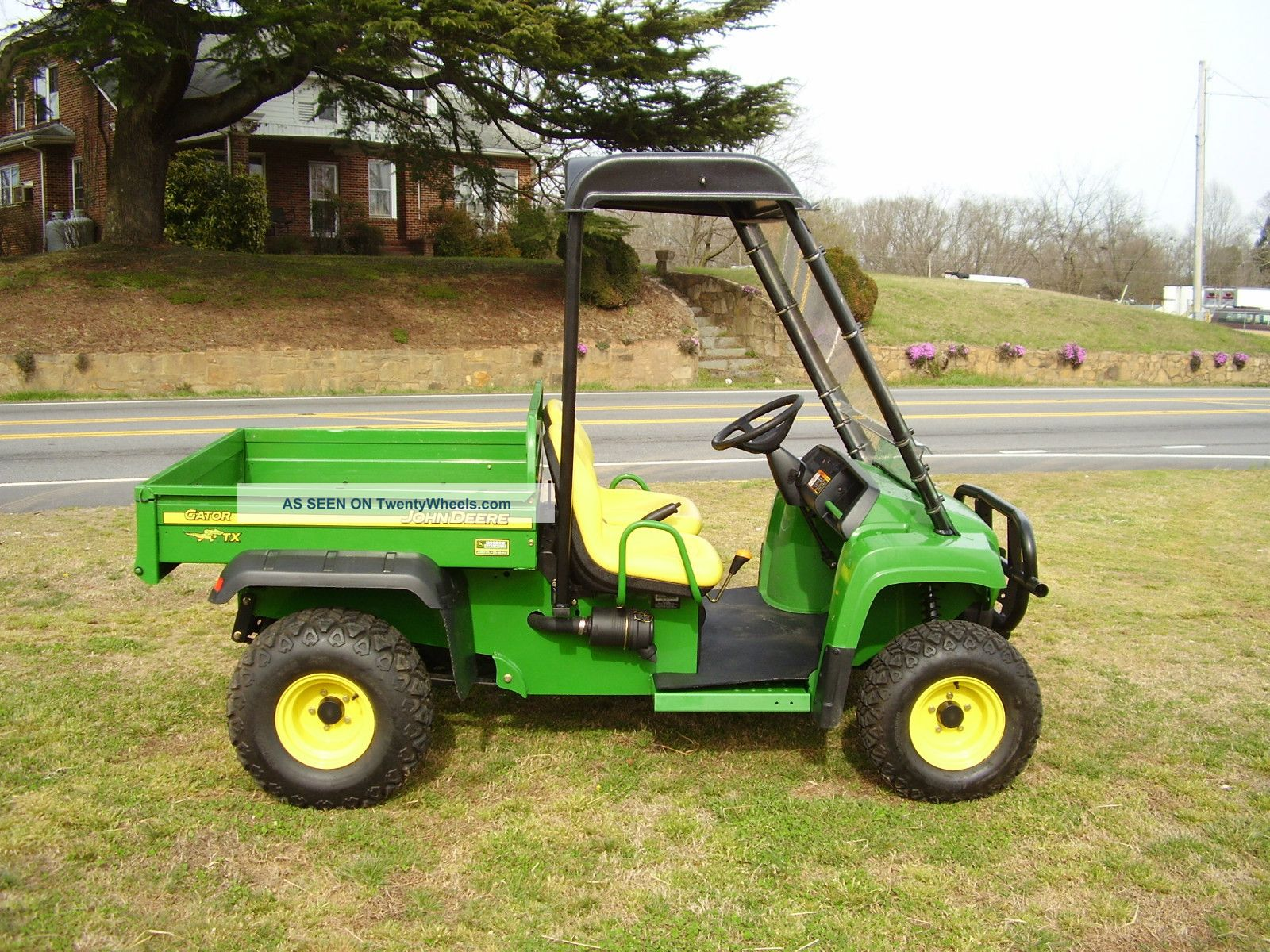 2007 John Deere Tx Gator Only 61 Hours Utility Vehicles photo