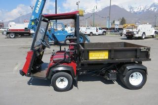 Turf Golf Utility Cart Dump Bed Diesel Differential Lock Toro 3300d Workman photo