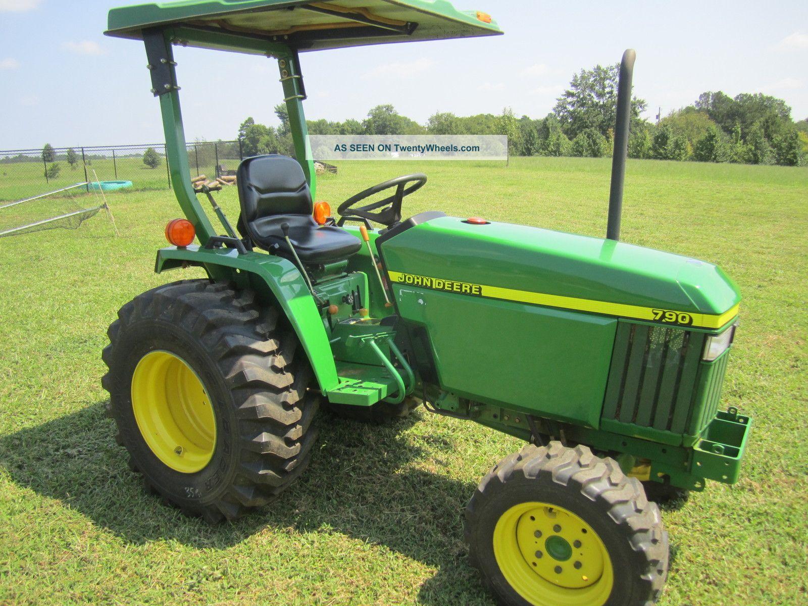 John Deere 790 Compact Tractor Best Deer Photos Wiring Diagrams 2001 30 Hp 4x4 Sel Rear Pto Power Steering