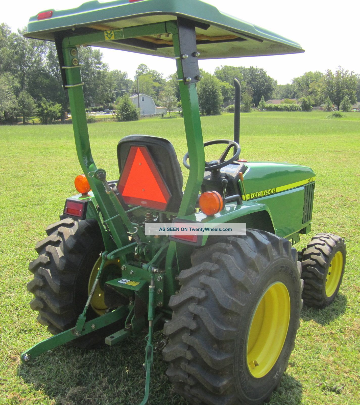 John Deere 790 2001 30 Hp 4x4 Diesel Rear Pto Power