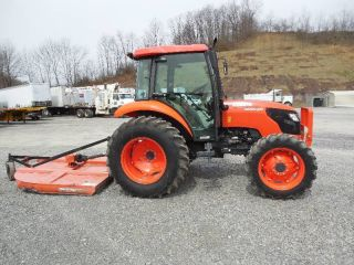 Kubota M X Tractor With Enclosed Cab Acheatcd Player Thumb Lgw