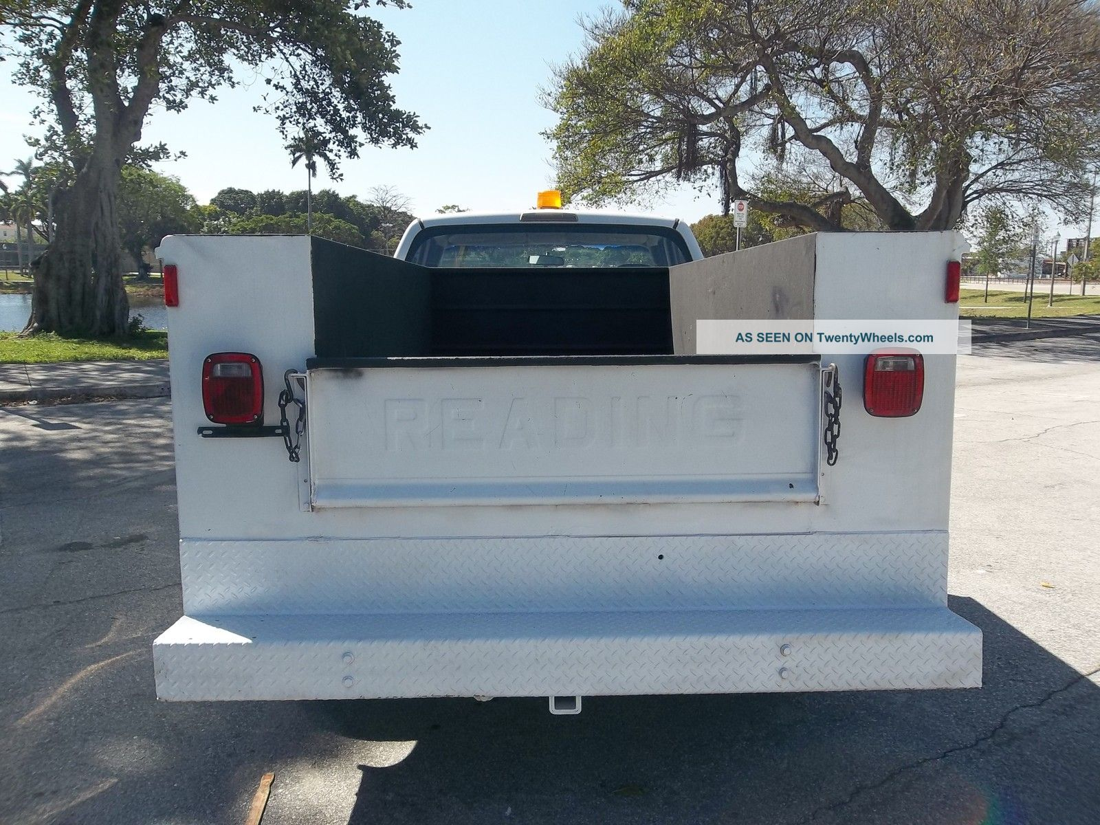 2001 Dodge 2500 Utility Service Truck Gas 5. 9 Magnum Florida
