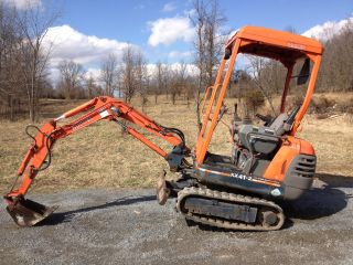 Kubota Kx41 - 2 Mini Excavator Rubber Track Backhoe / Trencher photo