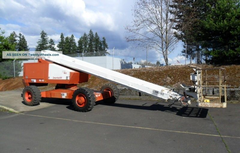 Snorkel Tba60 Telescopic Aerial Man Boom Lift Work Platform Lifts photo