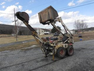 Bobcat M 600 Skid Steer Loader With Backhoe Attachment 2 Buckets Wisconsin Works photo