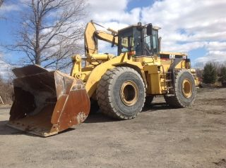 1995 Caterpillar 966f Series Ii Wheel Loader - Loader photo