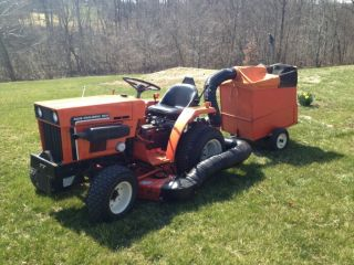 Allis Chalmers 5015 Tractor 18hp Year 1983 photo