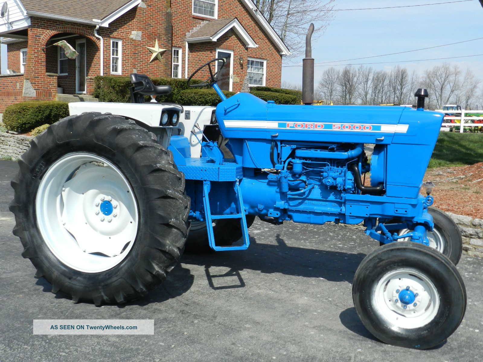 Ford 5000 Tractor Diesel Sharp
