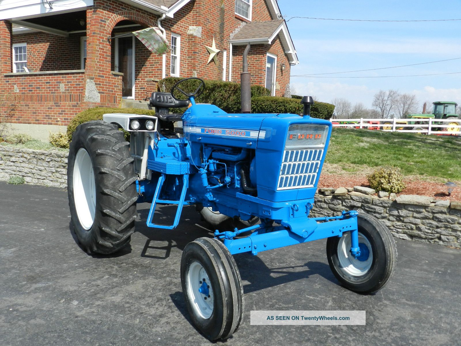 Ford 5000 Tractor Specs : Ford tractor diesel sharp