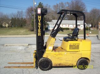1987 Hyster 5000 Lb.  Forklift 529 photo
