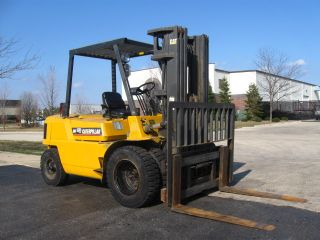 2001 Cat Caterpillar Gp40 8000lb Forklift Pneumatic Lift Truck photo