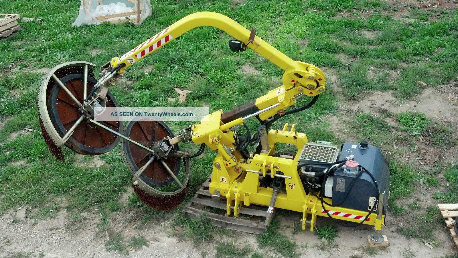 Guardrail Fenceline Mower Boom Reach Brush Hog Flail Cutter Attachment Arm Trim Tractors photo