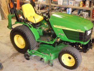 John Deere Tractor 4110 photo