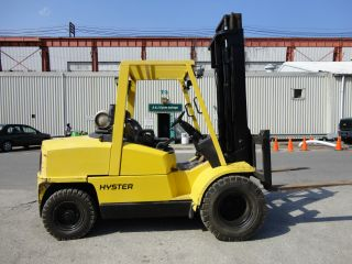 Hyster H100xm 10,  500 Lbs Pnuematic Forklift Fork Lift Truck Propane - photo