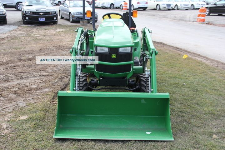 Tractor Ballast Box : John deere diesel tractor e comes with front loader