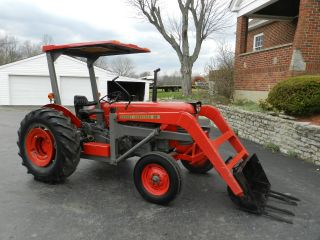 Massey Ferguson 65 Tractor & Front Hydraulic Loader - Diesel photo