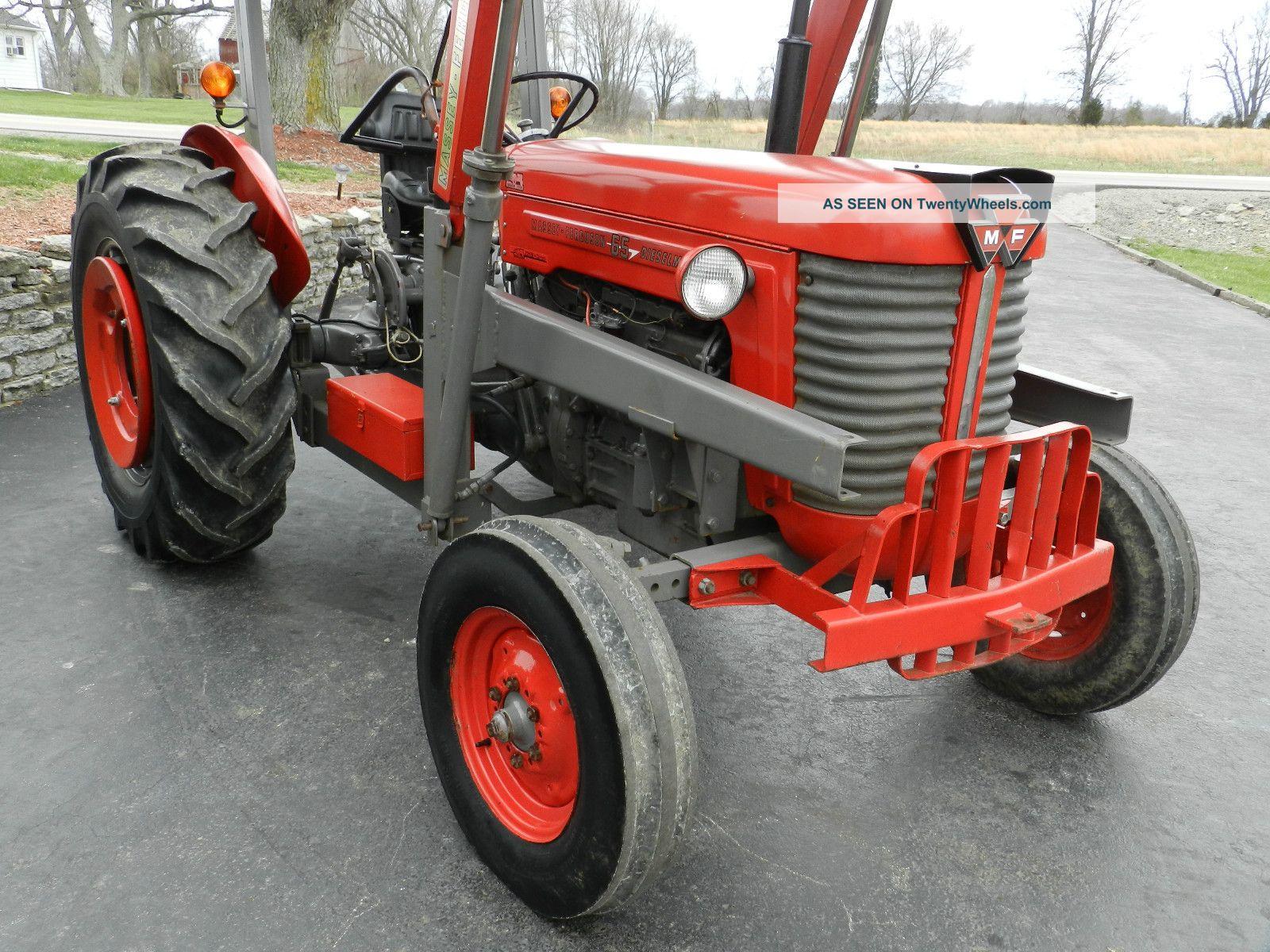Massey Ferguson 65 Wheels : Massey ferguson tractor front hydraulic loader diesel
