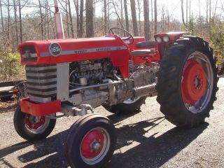 Massey Ferguson Model 165,  58 Hp Gas Engine,  6f/2r,  Ps,  Pto,  Serviced,  Good Cond photo