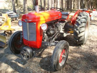 Massey - Ferguson Mf - 35 Deluxe Tractor photo
