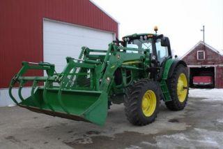 2012 John Deere 7330 Tractor - Mfwd photo