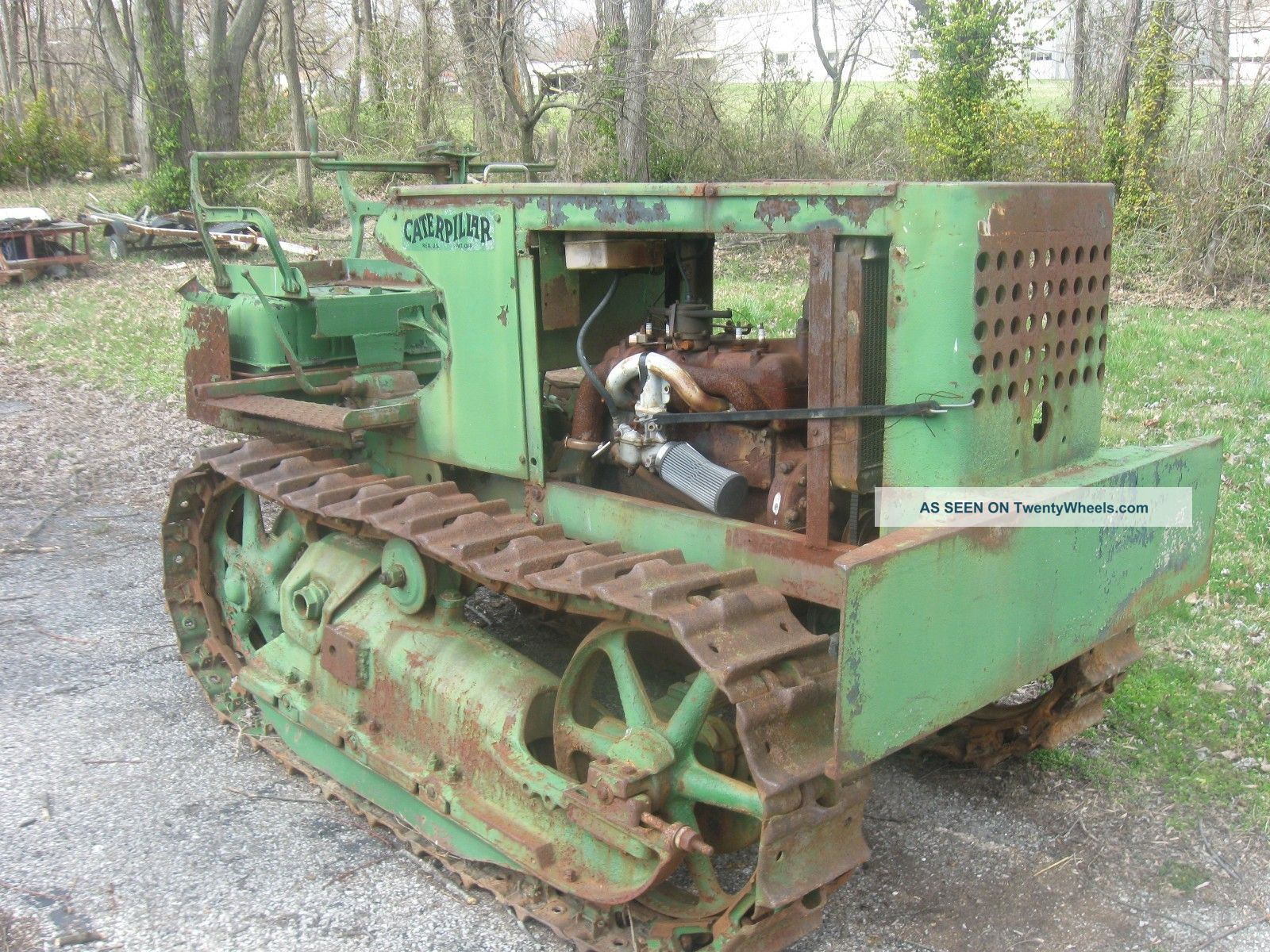 1928 Caterpillar 2 - Ton Tractor Model A 4 Cylinder Flat Head Fully Functional T35 Other photo