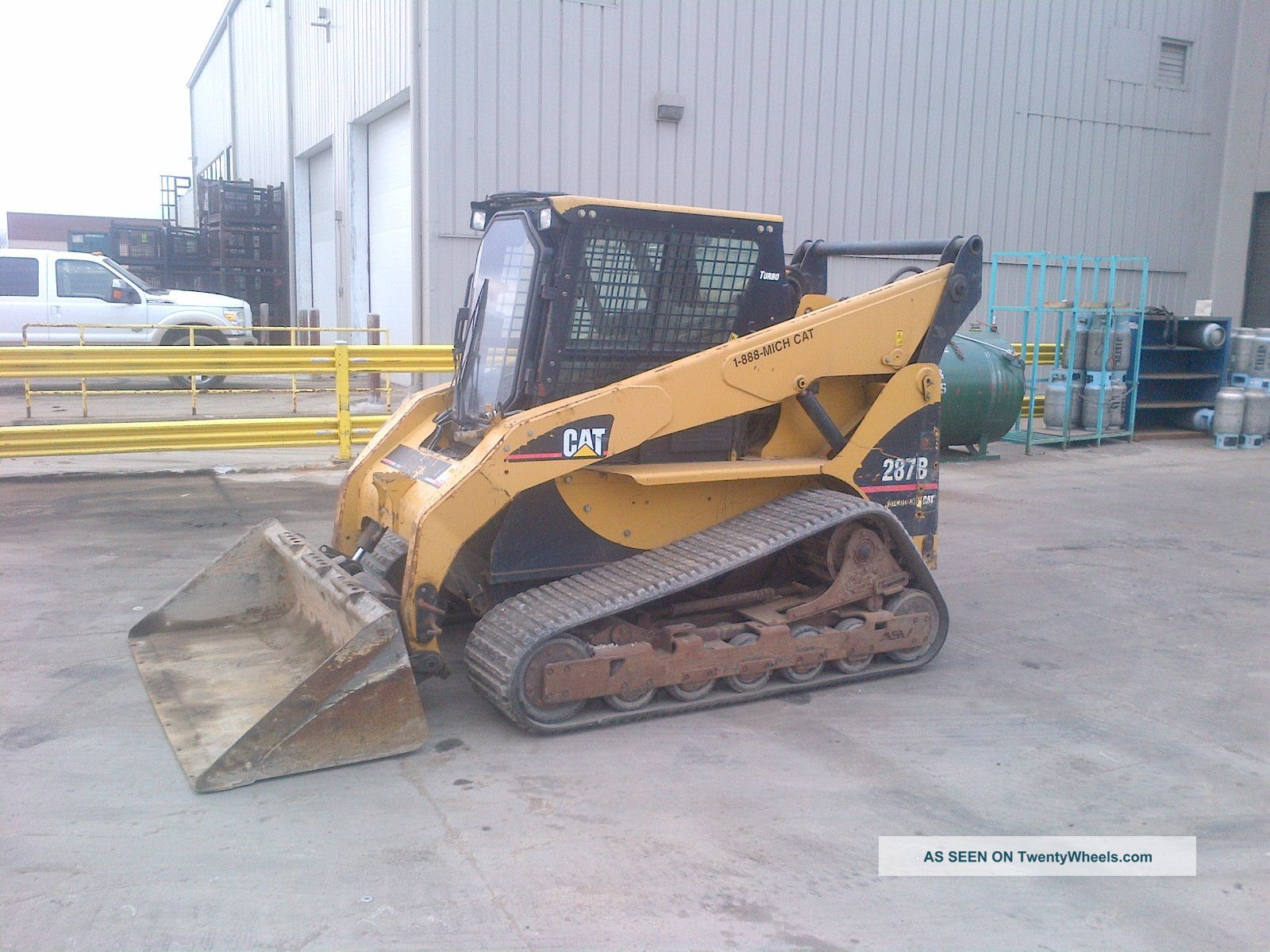 2006 Cat 287b Track Skid Steer Loader, Tracks, Cab, Heat